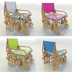 From the same designer of the Graffiti Table...Graffiti Armchair... By Luis Alicandu a.k.a. CacoUno