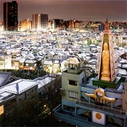 Fashinating photos of Tokyo taken by night.