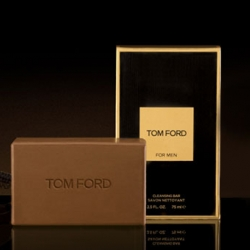What bad economy? Tom Ford is introducing an $18 soap on a rope 'Cleansing Bar' that is scented with Tom Ford For Men.