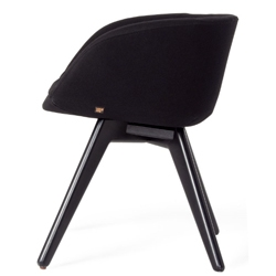 'Scoop' chair by  Tom Dixon. Part of his new furniture collection to be launched during 2010 London Design Festival.