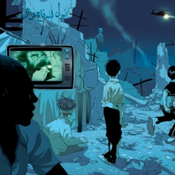 Tomer Hanuka's post-apocalyptic visions are imbued with a real sense of pathos.
