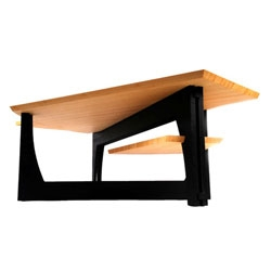 Ken Tomita, of Tomita Designs, draws inspiration from traditional Japanese forms and the multi-cultural context of his upbringing when designing his furniture.