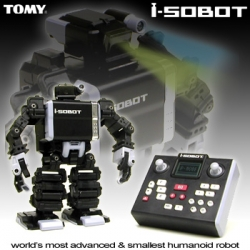 i-SOBOT: World's most advanced and smallest humanoid robot by TOMY.