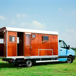 Tonke Campers are modern day eco-friendly campers that are not made from the traditional injection-molded system. Hand-built in Holland with a beautiful wood exterior.