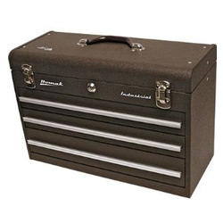 Homak 20in. Industrial 3-Drawer Steel Toolbox - my favorite toolbox find at SEMA