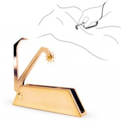 Incoqnito ~ luxury pleasure objects... The Razor contains two instruments for sensation - a claw and pinwheel.