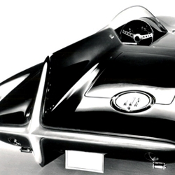 """A gallery of futuristic American concept cars from the 1950's selected by automotive journalist Larry Edsall, author of the book """"Concept Cars- from the 1930's to the Present""""."""