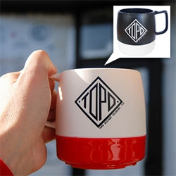 Topo Designs Dinex Mugs! 8oz double-wall insulated mugs that are made of ozone-safe urethane foam and perfect for hot or cold foods and beverages. Stackable, lightweight, and dishwasher safe!