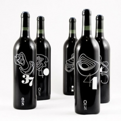 The Topography Wine, devised by designer Rob Schellenberg, are based on the the degrees north & topographic map of Italy's famous wine regions.