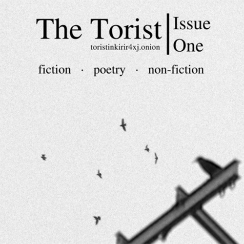 "The Torist - ""New literary journal hosted on Tor. We aim to foster cooperation between technical & humanities-based communities."" Edited by Robert W. Gehl, associate professor at the Univ. of Utah's Department of Communication, and GMH."