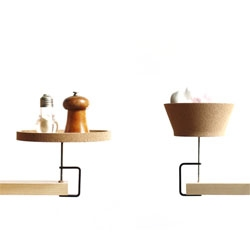 Torno Shelf and Ecran Lighting by by Inge Sempe will debut at Milan Design Week 2011.