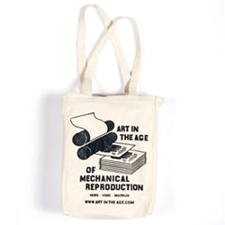 Art in the Age of Mechanical Reproduction printing press Tote!
