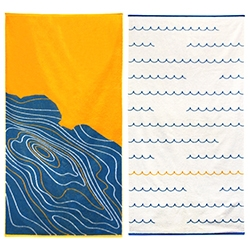 The Eagle Rock Yacht Club and NYC boutique beach towel company Breezeway created a limited edition line of towels! 25% of the profit from sales goes towards youth programs in LA. Only 25 of each will ever be made.