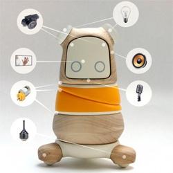 Kompis the hospital robot by Linus Sundblad.