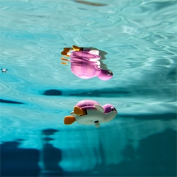 Brian McCarty, my favorite toy photographer, takes it under water!