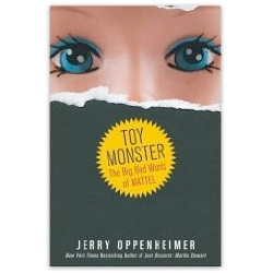 Oppenheimer is at it again ~ this time with Toy Monster ~ he takes on Mattel and the story of Barbie in this unauthorized biography ~ nice book cover, i'm strangely curious...