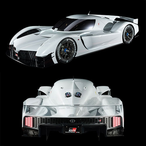 Toyota GR Super Sport Concept from racing division, Gazoo Racing.