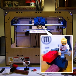 Print your own toys! We unbox the MakerBot Replicator and 3D print Free Universal Construction Kit toys ~ first up, connecting Lego and Lincoln Logs and Kinex and Lincoln Logs... and that's just the start!