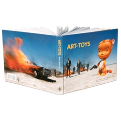 Art-Toys: Photographs by Brian McCarty - The toy photographer super-star, releases his 240 pages of toy glorious goodness. Also a Special Edition, Signed and Numbered limited edition of 600 available.