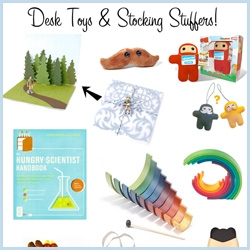 NOTCOT Gift Guide: Desk Toys & Stocking Stuffers ~ tons of fun picks to surprise and delight ~ just click the many many pictures to explore the products!