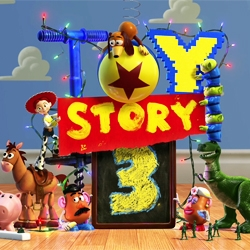 Designers will appreciate the new teaser trailer for Pixar's Toy Story 3,— where Woody and Buzz battle it out for the best logo design...