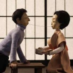 A great romantic animated trailer for the 11th edition of Far East Film Festival (April 24 - May 2 2009)! The artist Spela Cadez let Western and Eastern cultures tenderly meet...