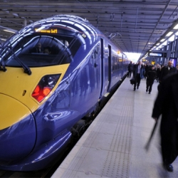 Britain's Javelin High Speed Train is ready for use.