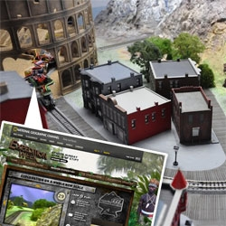 Mission Expedition! Drive an actual miniature train through the Himalayas, Papa New Guinea, London and Ancient Rome... find artifacts, win them in real life! Awesome project by National Geographic and Deeplocal. (See making of too!)