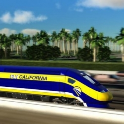 California leads  the way in the U.S. with it's very own High-Speed Rail.