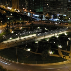 Tram Stop in Alicante by SubArquitectura - This project was taken as an opportunity to give back to the city a space that had been taken from it; transform a roundabout in a public square. Excelent work.