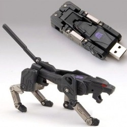 Ravage the Transformer is now a working USB flash drive.