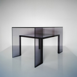 This translucent table has just made its debut at Maison et Object 2012, designed by Norwegian architect and designer Andreas Aas.