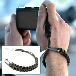 DSPTCH paracord camera wrist strap ~ cute alternative to the ones that come with cameras...