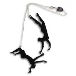 Trapeze Necklace!