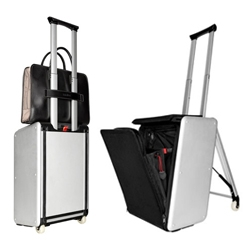 'Trip' suitcase by Travelteq provides a comfortable 10-degree seat angle, for an activity-promoting posture.
