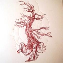 Wow - stunning letterpress print from Mandrake Letterpress!