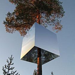 harads' tree hotel by tham & videgard hansson arkitekts.
