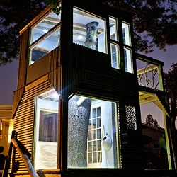 Beautiful shaker style treehouse.