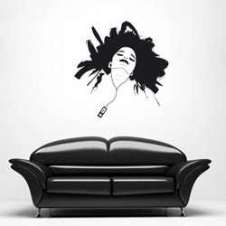 Vinyl sticker wall by Thomas  available on the new amkashop parts : vinyl sticker art