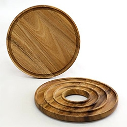 Merchant 4 has this Wooden Board + Trivet Set by Chabatree
