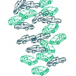 Limited edition print from Jason Snyder called Trucks and Vans!