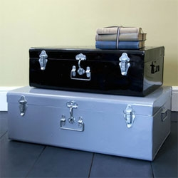 Rhoda Metal Storage Trunk