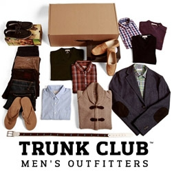 Trunk Club is a new men's clothes shopping experiment out of Chicago. Expert stylists hand select and send 'trunks' of clothing to men based on their needs and preferences.