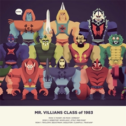 In an epic event growing in the mind of a kid that followed his dreams to draw action heroes on paper forever and ever, artist Christopher Lee gets the opportunity to illustrate the truth about He-Man - class of 1983!