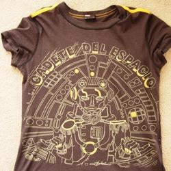 my fun new (old) diesel space cadet tshirt