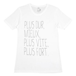 Le Musique tees at Colette ~ lyrics you're sure to know ~ in french. scrawled across your tee.