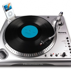TTI - Numark has come up with a turntable that your ipod can dock into and directly record your favorite vinyl.