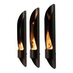 Tube fireplace was designed by Mario Mazzer for Acquaefuoco wellness mood. The stunning contemporary bioethanol fireplace is a winner of the red dot design award 2010.