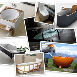 A roundup of years of lustworthy bath tubs and hot tubs we're loving... from gorgeous designs... to hot tub boats, dutchtubs, and even igloo hot tubs!