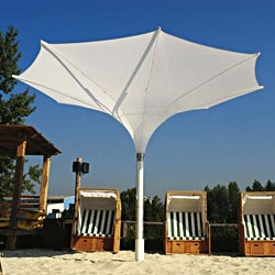 Tulip collection by MDT-Tex, consists of elegant parasols with quite unusual shapes similar to a nice flower.